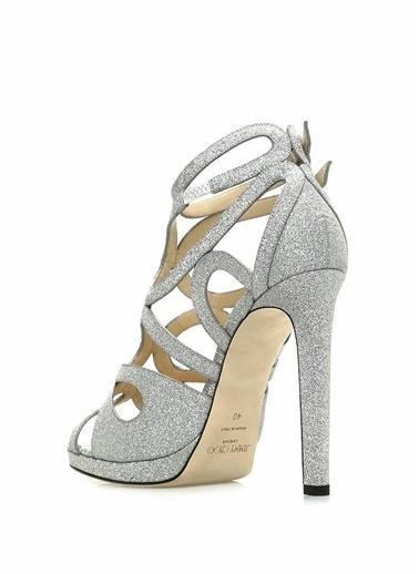 Jimmy Choo Ayakkabı Gümüş
